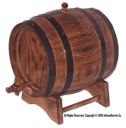 3 litre oak wood, wine ageing barrels, 3 liter toasted kegs port making casks, 3L
