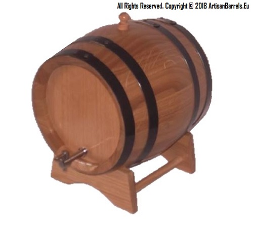 3 litre oak wine ageing barrels & casks,3 liter kegs with metal tap, 3L